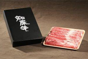知床牛すき焼き用肩ロース600g